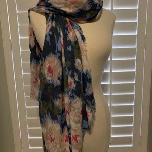 Stella and Dot Floral IKAT Scarf Reg. $49